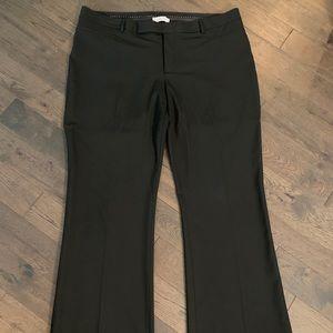 """GAP """"Modern Boot"""" Black Dress Pants, Size 18"""